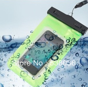 for Prestigio MultiPhone 3400 duo 4.0 Waterproof PVC Bag Underwater Pouch bag Watch Digital Camera Free Shipping hot sell(China (Mainland))