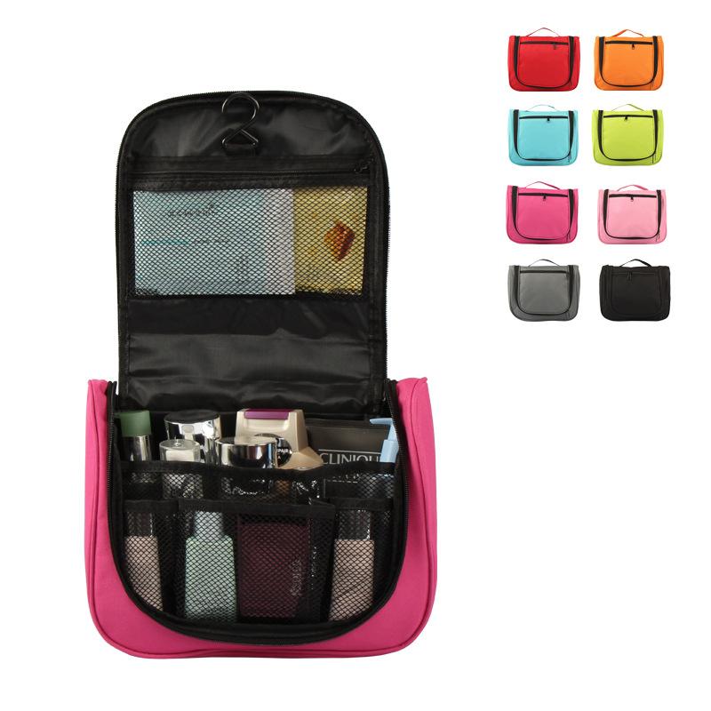 8 Colors Folding Sundries Organizer Bags Oxford Cloth Hand Make up Storage Comfort Camping Journey Wash Bag(China (Mainland))