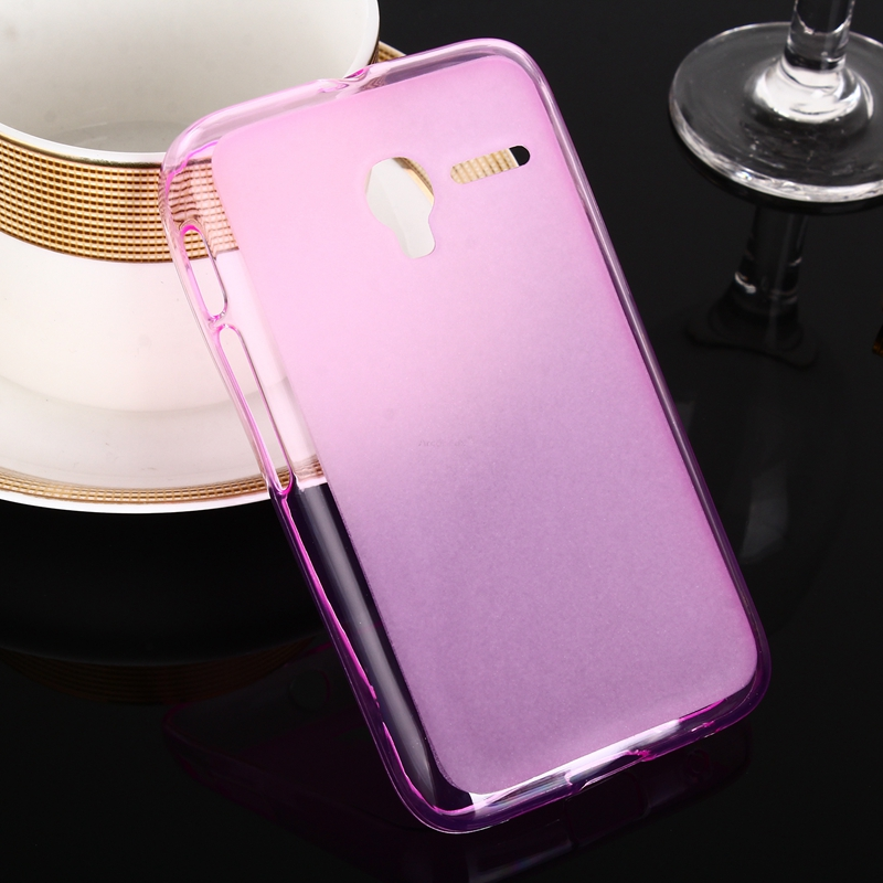 Fashion Slim Soft TPU Silicone Case for Alcatel One Touch Pixi 3 3.5 inch OT 4009A 4009X TPU Pudding Phone Bag Back Cover Case(China (Mainland))