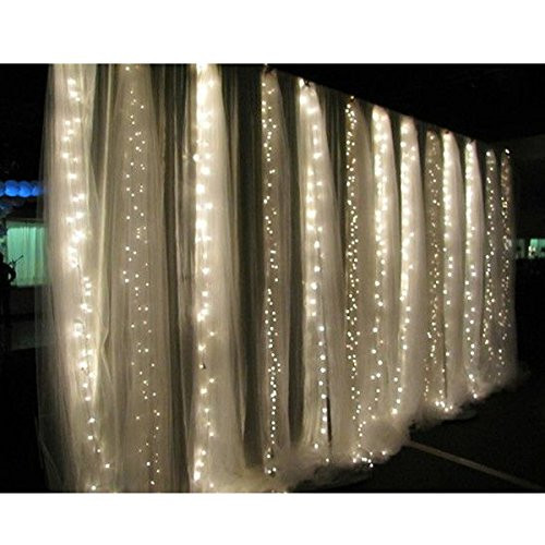 3Mx3M 300LEDs Outdoor Home Warm White Christmas Decorative xmas String Fairy Curtain Garlands Strip Party Lights For Wedding<br><br>Aliexpress