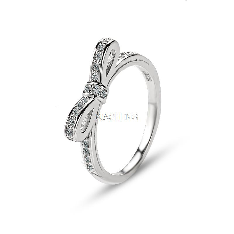 100 925 sterling silver compatible with pandora jewelry sparkling bow