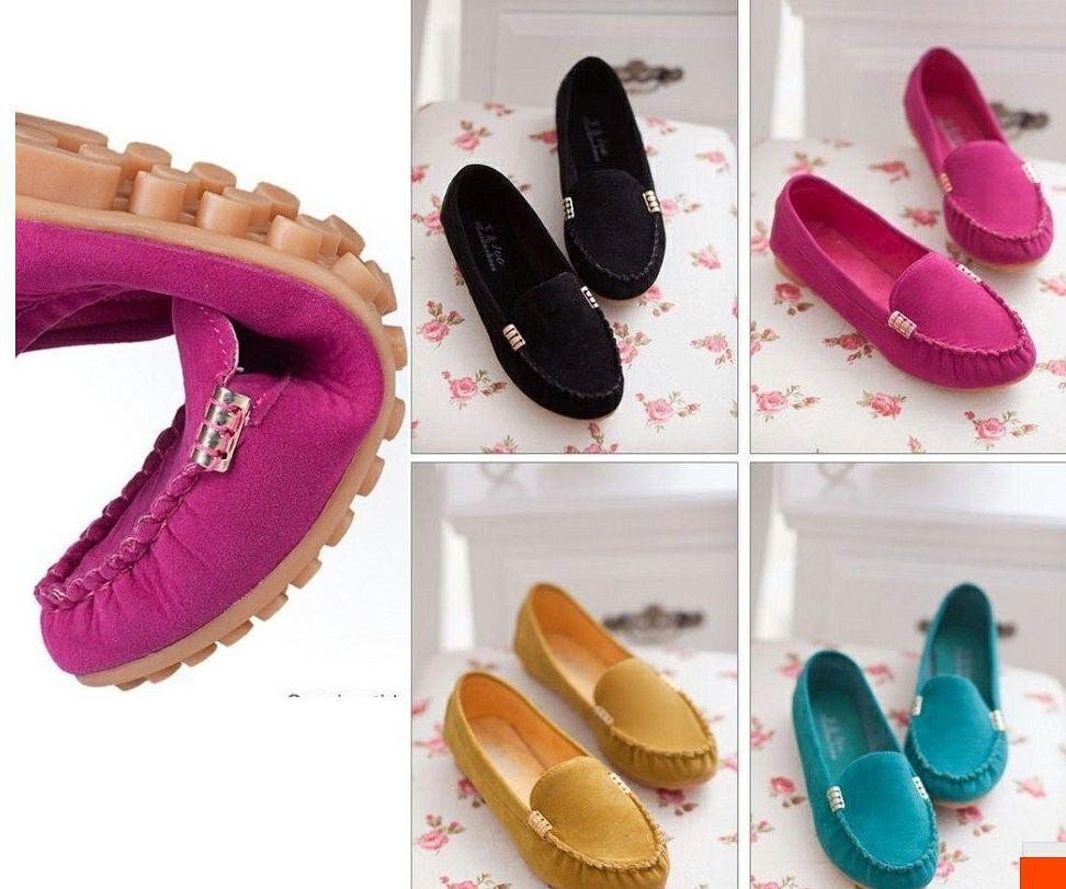 2014 Fashion Women Flats Soft Bottom Summer Single Ballet Shoes Ladies Sandals Work Woman - Cheap fashion women shoes store