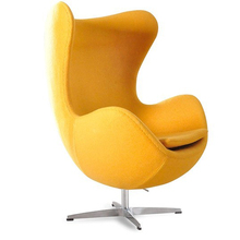 Egg Style Chair( Top cashmere),living room furniture Chairs modern style bright color egg ball chair single seater sofa chairs(China (Mainland))