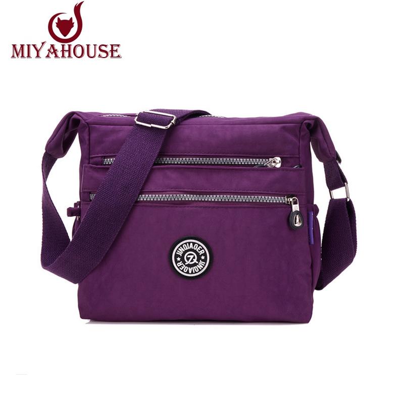 New Women Messenger Bags High Quality Female Shoulder Bag For Woman Waterproof Nylon Handbags Crossbody Bolsas Feminina(China (Mainland))