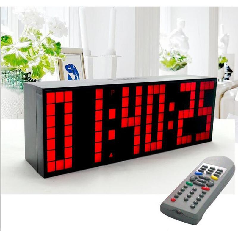 Horloge thermom tre digital design blanc opio for Calendrier digital mural
