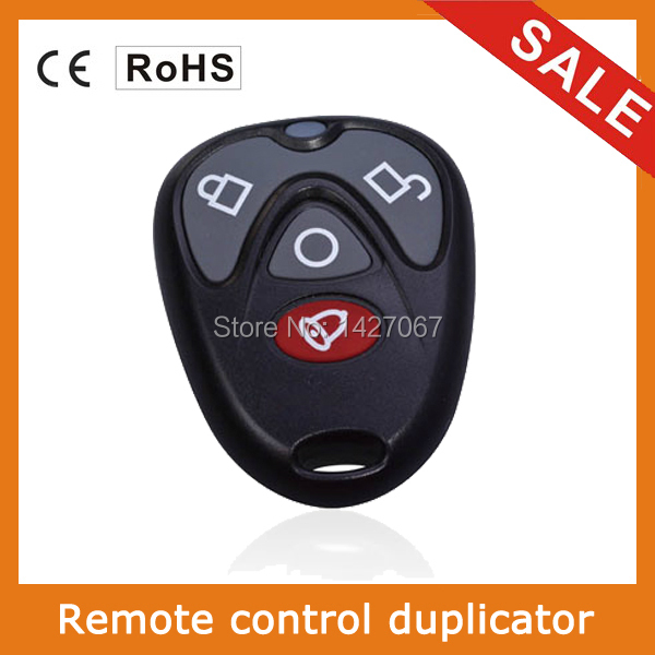 universal remote control 4-channel cloning garage door remote control gate opener transmitter duplicator 433.92MHz