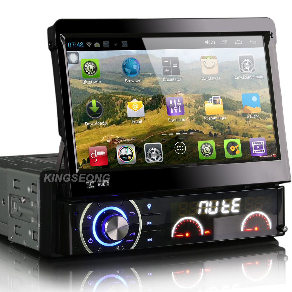 android 4 1 1 car pc 7inch 1 din car audio stereo car dvd. Black Bedroom Furniture Sets. Home Design Ideas