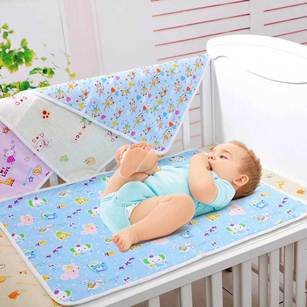 New Cotton Baby Infant Travel Home Waterproof Urine Mat Cover Burp Changing Pad<br><br>Aliexpress