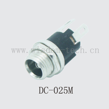 Free shipping 10pcs/lot female DC power charging socket pin2.0/2.5 without screw connector  DC025/DC025M/DC025BM(China (Mainland))