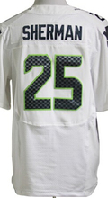Men's #3 Russell Wilson Jersey Blue White Gray Green 12 12th Fan 24 Marshawn Lynch 25 Richard Sherman 88 Jimmy Graham Jerseys(China (Mainland))