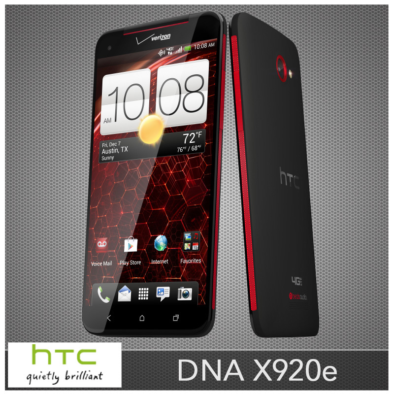 """Original HTC Butterfly DNA X920e Unlocked Mobile Phone Quad-Core 16GB 5.0"""" inches Andriod 8MP 3G Refurbished(China (Mainland))"""