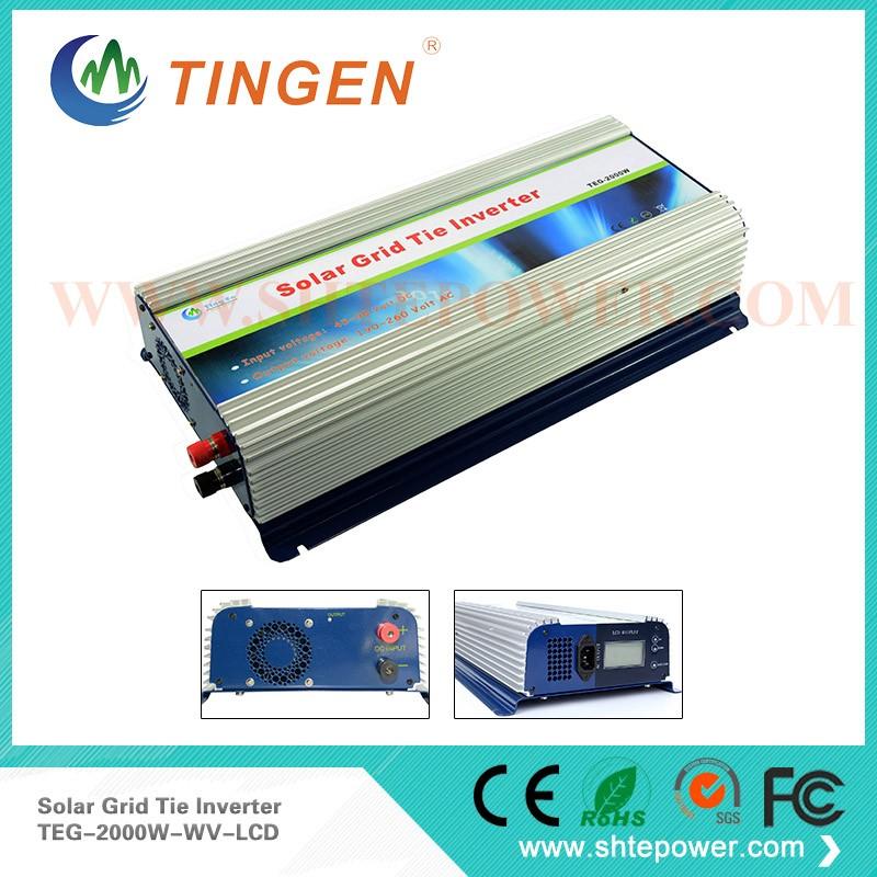 2000W Grid Tie Solar Inverter, MPPT Solar Charge Controller Inverter 2KW(China (Mainland))