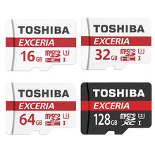 Buy TOSHIBA Micro SD Card 32GB Class 10 16GB/64GB/128GB Class10 UH3 Memory Card Flash Memory Microsd Tablet Smart Phone Digital for $9.86 in AliExpress store