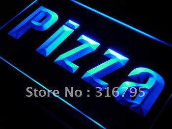j698-b Pizza Shop Cafe Business Lure LED Neon Light Sign