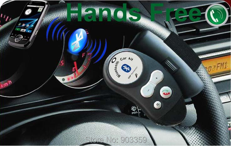 2015 Newest steering wheel bluetooth car kit Support Multi-point Connections handsfree phone call Built-in Microphone Speaker(China (Mainland))