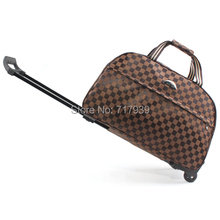 Free shipping trolley bag luggage travel bags metal hand trolley travel bag trolley luggage men luggage & travel bags(China (Mainland))