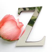 2019 novos adesivos de parede diy 3d adesivo acrílico decoração presente de casamento amor letras Do Alfabeto decorativos decoração da parede(China)