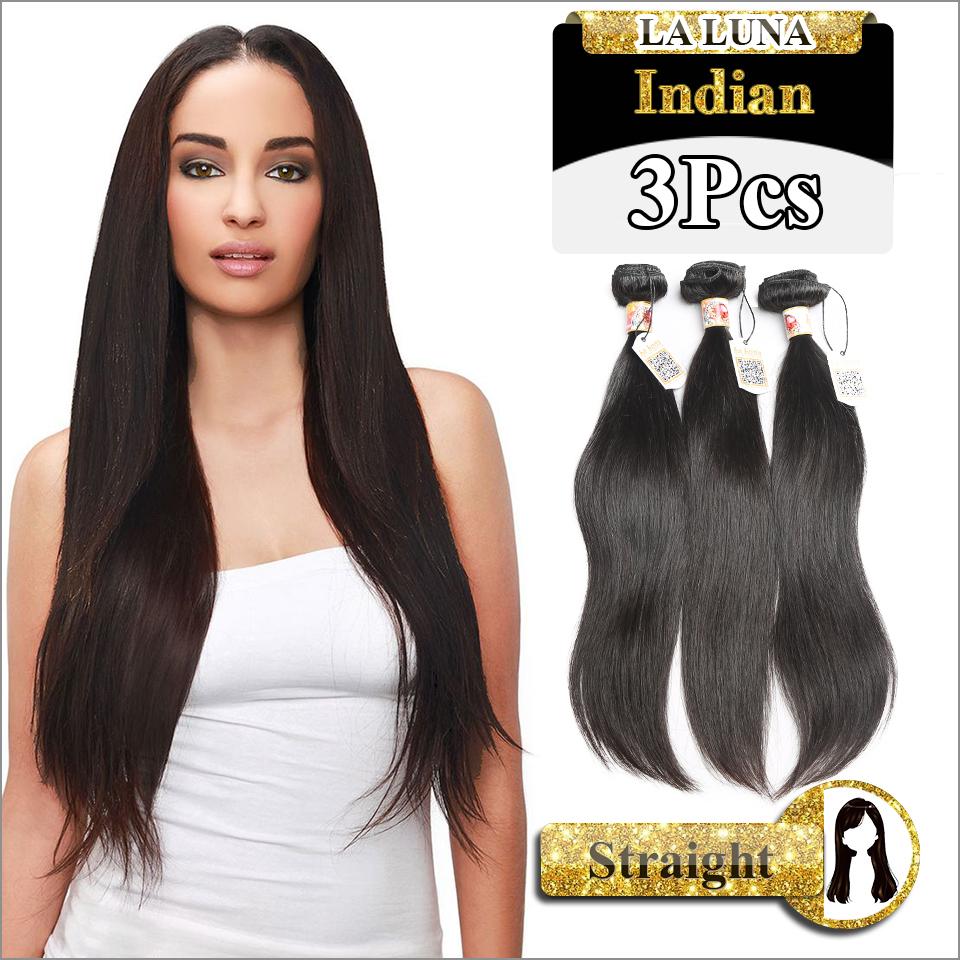 Rosa Weave Beauty Grade 7A Indian Virgin Hair Straight 3Pcs/Lot 100% Indian Hair Bundles Human Hair Weaves Free Ship(China (Mainland))