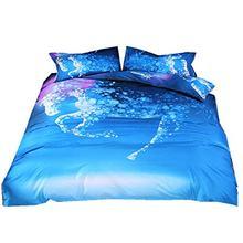 Bohemian Oriental Mandala Bedding Quilt Duvet Cover Set 3pcs bedding set(China)