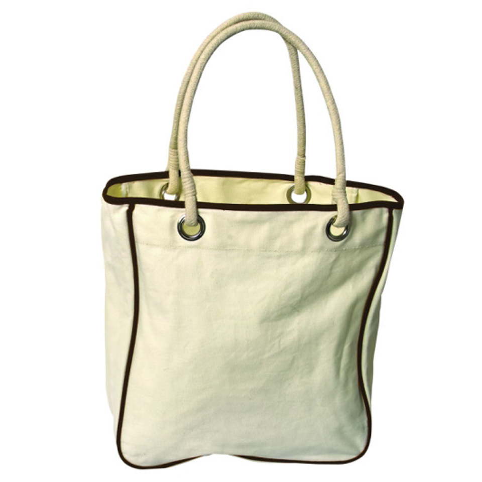 fashion green cotton canvas shopping bag factory custom