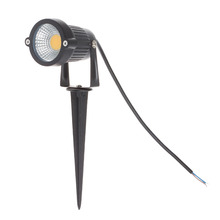 12V Led COB Lawn Lamps 3W IP65 Waterproof LED Flood Spot Light Bulb For Garden Pond Path Outdoor Lighting with Insert Needle Pin(China (Mainland))