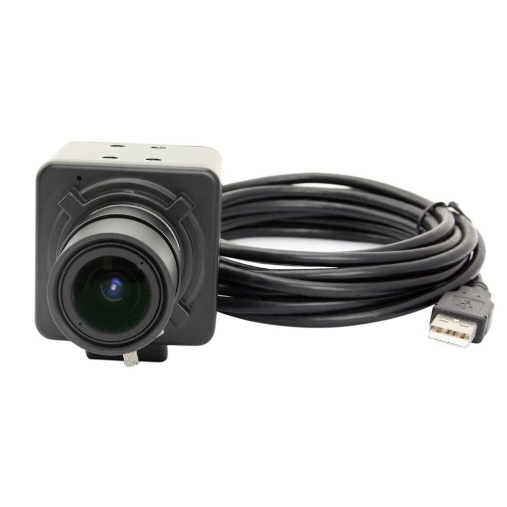 5MP Aptina MI5100 high 30fps 1080P 5-50mm CS mount Manual zoom Varifocal lens USB Webcam Camera for Android, Linux raspberry pi(China (Mainland))