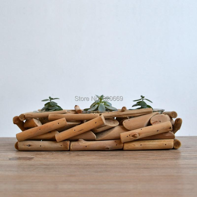 enfeite jardim bicicleta:Zakka enfeites de jardim bonsai vasos de suculentas ramo de mão