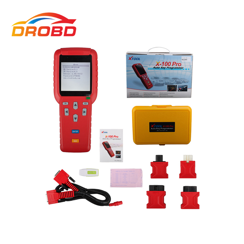 XTOOL X-100 Pro X100+ X100 Pro Auto Key Programmer New Remote Controller Programming Free Update Via Official Website(China (Mainland))