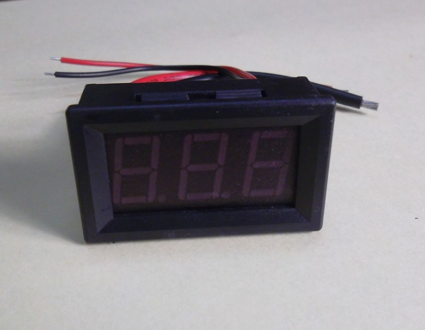 """20A DC Ampere Current Digital Panel Meter 0-20A 4-30V DC Power Supply Ammeter LED Red 0.56"""" 3 Digits(China (Mainland))"""