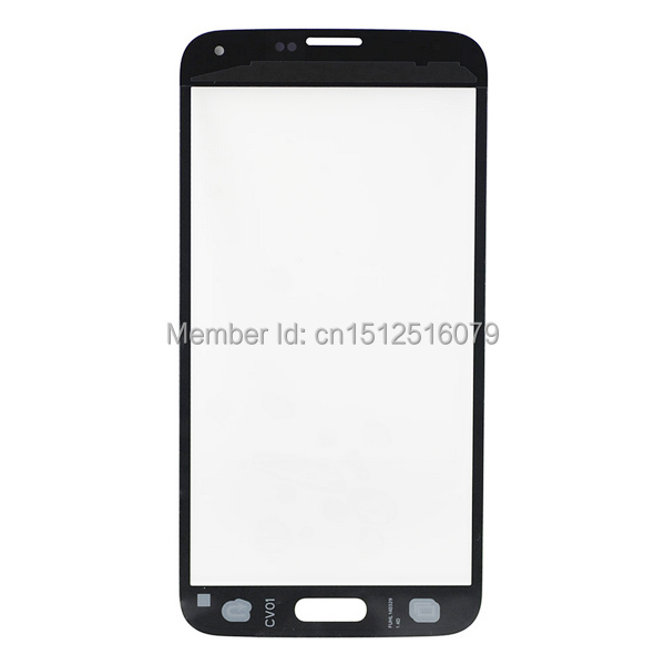 1 piece Replacement Front Touch Screen Glass Lens Samsung Galaxy S5 , samsung s5 SM-G900F front glass - Just-U Phone Accessories Center store