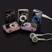 2015 New Mini Clip USB MP3 Music Media Player Support 1-8GB Micro SD TF + Headphone + Cable 5VZA 7AIT(China (Mainland))