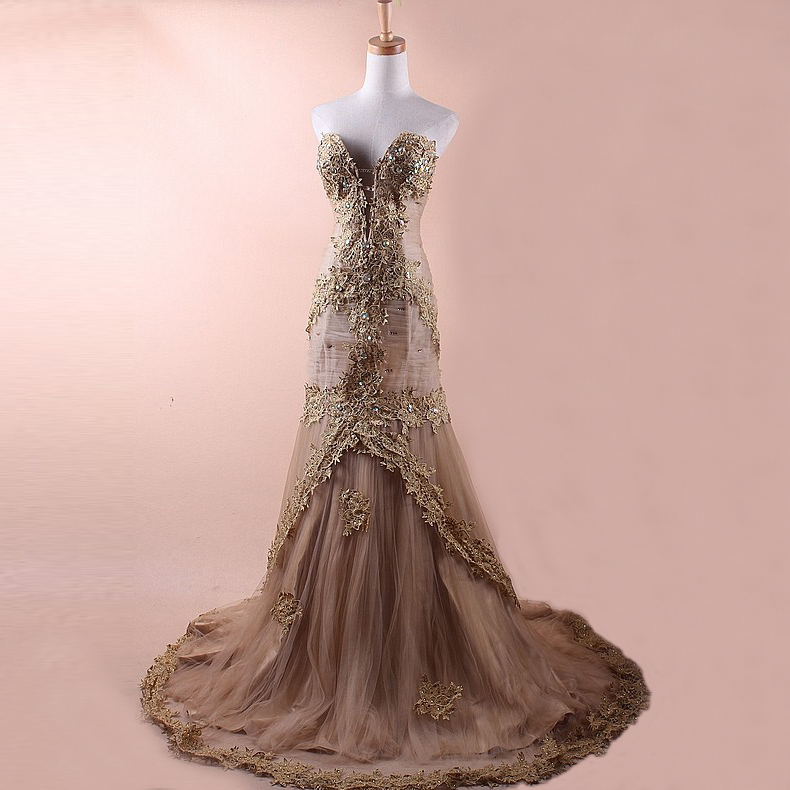 Vintage Evening Gowns And Dresses - Boutique Prom Dresses