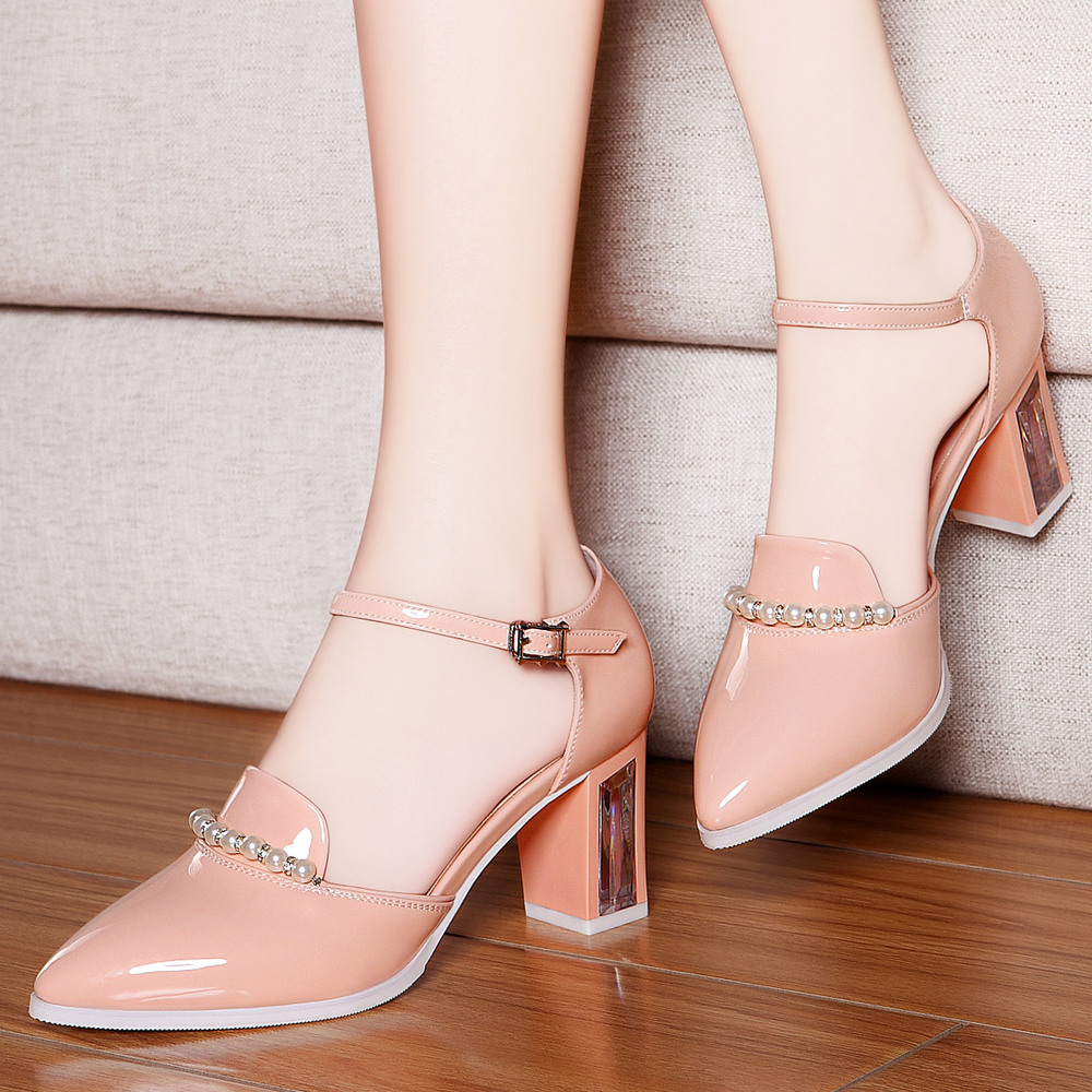 sandals s shoes 2015 pointed toe high heeled shoes