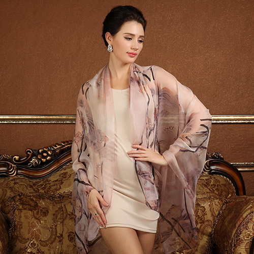 High quality 100% mulberry silk scarf natural real silk Women Long scarves Shawl Female hijab wrap Summer Beach Cover-ups P15(China (Mainland))