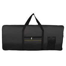 61 key keyboard bag black keyboard package plus bale instrument accessories wholesale(China (Mainland))