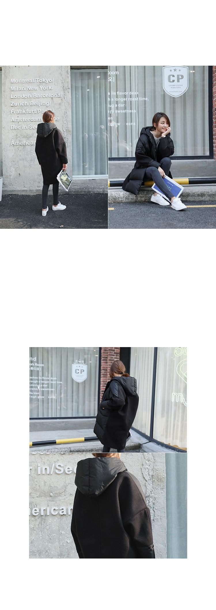 Скидки на Женщины Зимнее Пальто 2017 Новый Большой размер Досуг Пуховик Толстый Теплый Хлопок Пальто Корейской Моды Средней длины Женщин куртка AB346