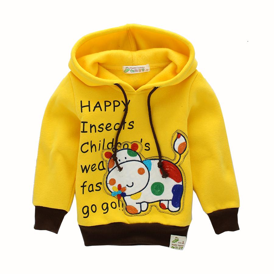 Children's clothing 2015 fashion design male and female child Hoodies Sweatshirts rabbit baby pullover sweatshirt freeshipping(China (Mainland))