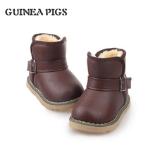 Spring Autumn 2016 European Children Boots Girl Boy PU Leather Shoes Kids Boots Shoes Chaussure Enfant.(China (Mainland))