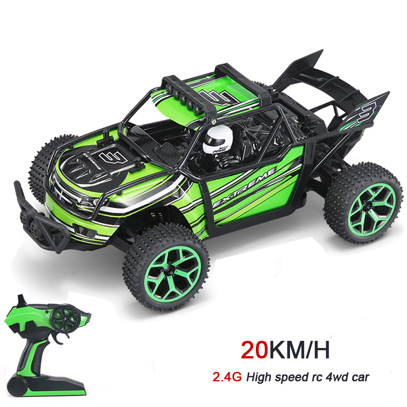 2016 New 1:18 RC Car 4WD Drift Remote Control Car Radio Controlled Machine Highspeed Micro Racing Cars Model Toys(China (Mainland))