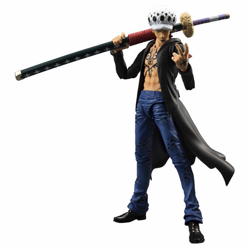 Cool Style One Piece Trafalgar Law Figure Action One Piece Dead or Live Toy Trafalgar Law(China (Mainland))