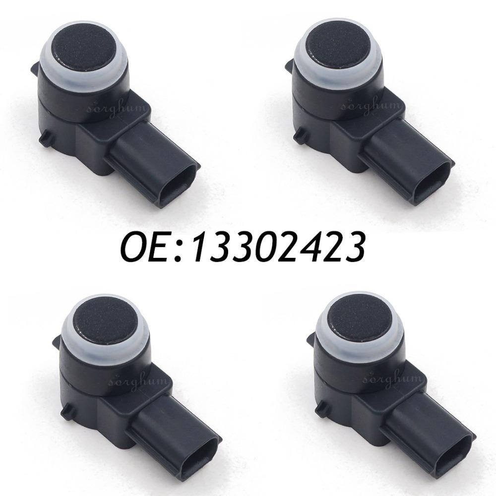 4PCS PDC Ultrasonic Bumper Reverse Parking Assit Sensor GM 13302423 0263013009