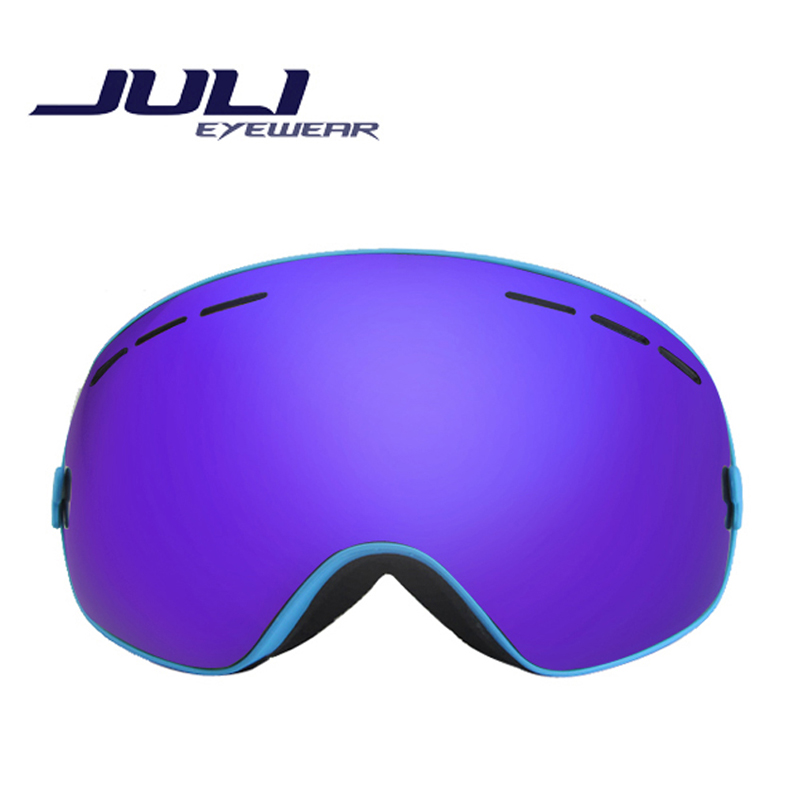 Fashion Eyewear Snow Snowboarding Glasses snow/UV- Protection Multi-Color/ double anti-fog lens Snowboard Ski Goggle BNCC(China (Mainland))