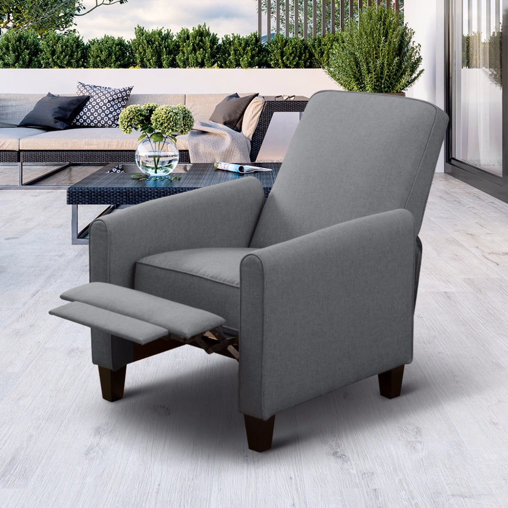 Sillon reclinable barato sistemas de masaje with sillon for Sillon reclinable tela