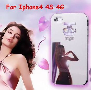 100% Original Faddist Brand Soft TPU Paris Perfume Bottle Pattern Sexy Girl case Cover for iphone4 4G 4S 10pcs/lot Free shipping