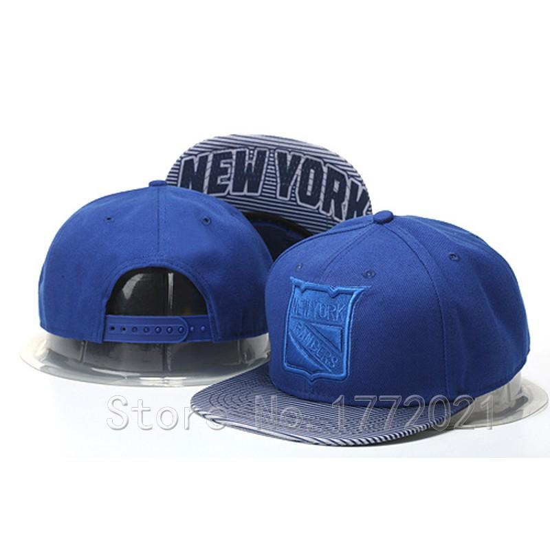 2016 Men's New York Rangers Snapback Hats In Royal Blue Hockey Team Logo Embroidery Adjustable Caps(China (Mainland))