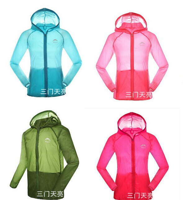 2015 Athletic Brand Outdoor Ultra Thin Sports Women Running Jacket Windproof Pack Cycling Bike Bicycle Clothing Coat Clothes(China (Mainland))