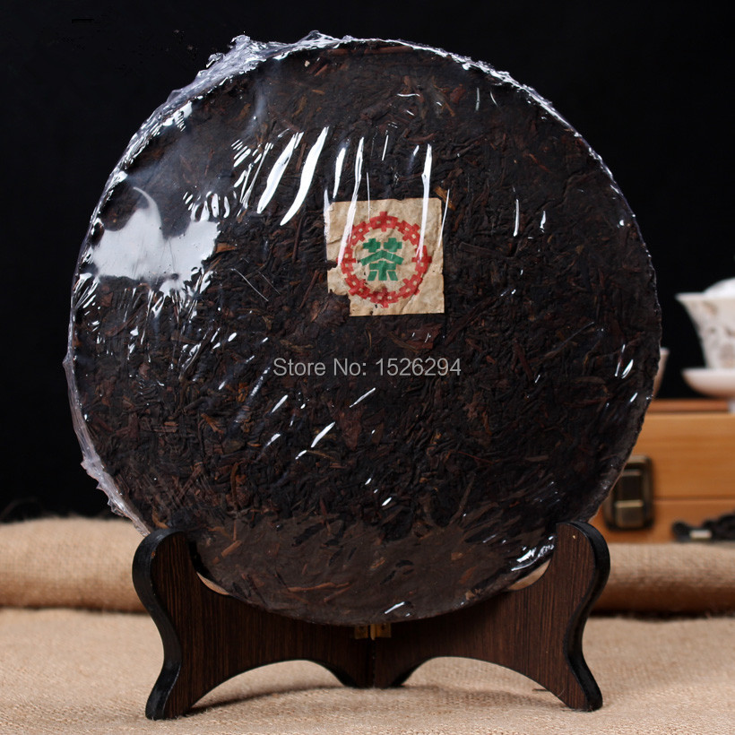 Made in1971 ripe pu er tea 357g oldest puer tea ansestor antique honey sweet dull red