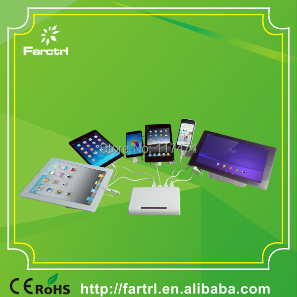Security Display Stand 8 USB Ports Display Security Alarms For Phone / Tablet(China (Mainland))
