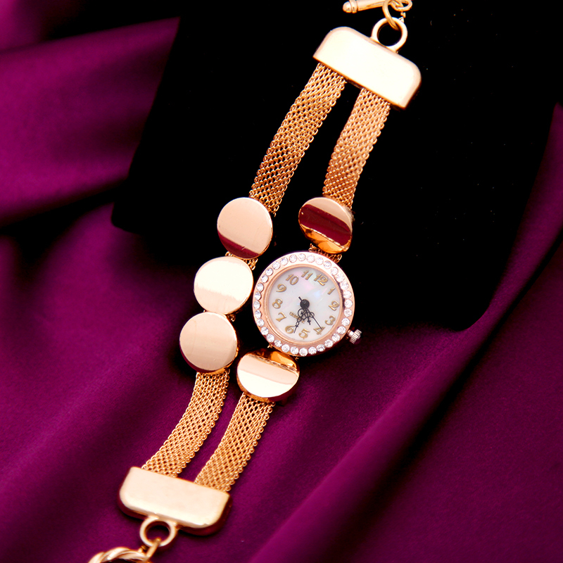 Women Analog Reloj Square Quartz Wristwatches Casual Love Relogios Fashion Crystal Clocks Yellow Go
