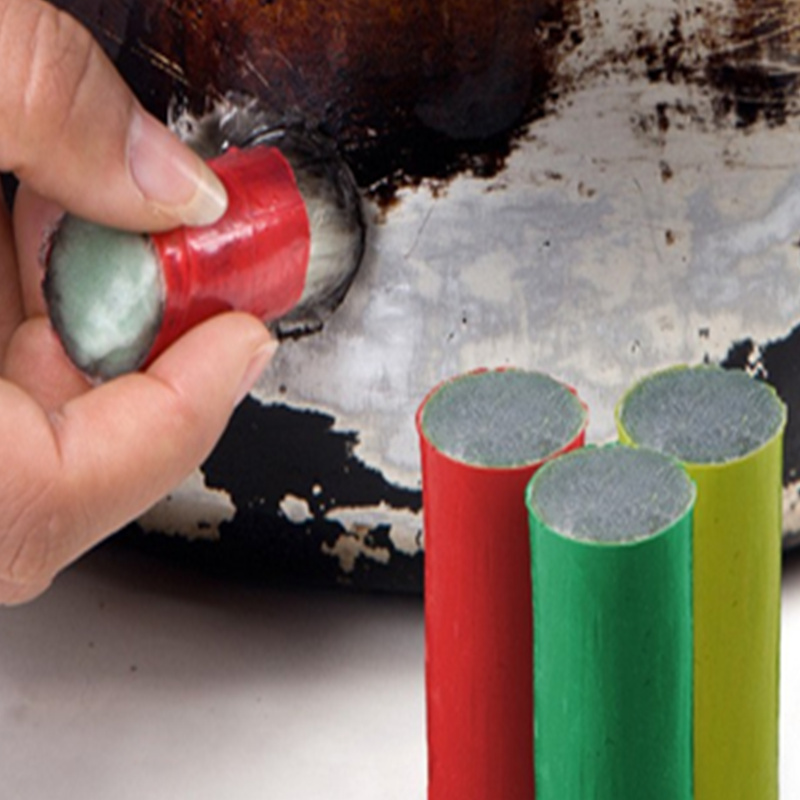 1 Pcs Magic Stainless Steel Rust Pan Cleaning Brush Rust Remover Stick Metal Cleaner Kitchen Accessories(China (Mainland))